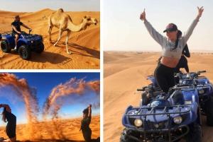 From Morning ATV Quad Biking Desert Safari Adventure
