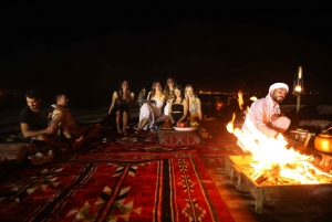 From Red Dunes and Camel Safari with Overnight Camp