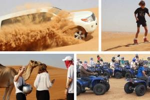 Half-Day Desert Adventure Tour with Quad Biking