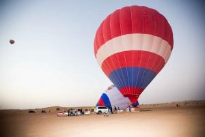 Hot Air Balloon Ride with Camel Ride & Falcon Photo