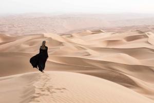 Morning Desert Safari with Sandboarding & Camel Ride