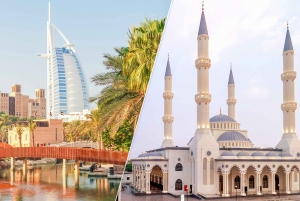 Old and Modern Dubai City Tour with Blue Mosque Visit