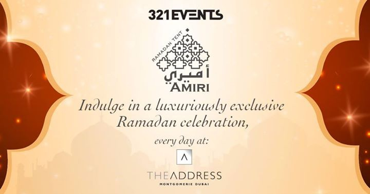 Amiri Tent – The most indulgent Ramadan in Dubai