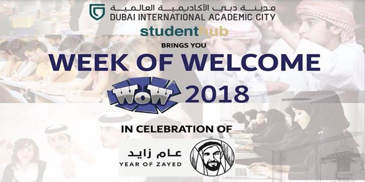 DIAC Student Hub Week of Welcome 2018