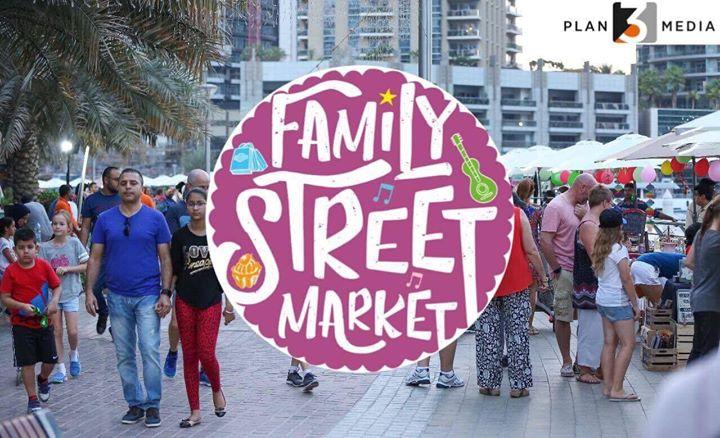 Family Street Market - Dubai Marina