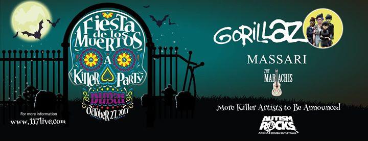 Fiesta de Los Muertos 2017: Gorillaz, Massari and more!