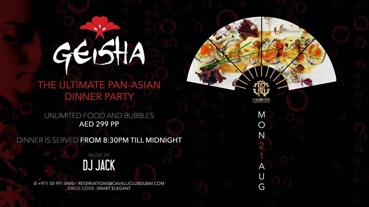 Geisha Dinner Party w/ DJ JACK