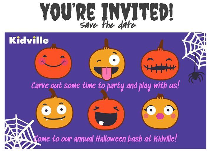 Halloween Bash at Kidville Jumeirah