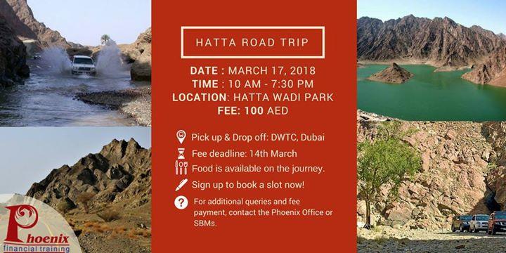 Hatta Road Trip 2018