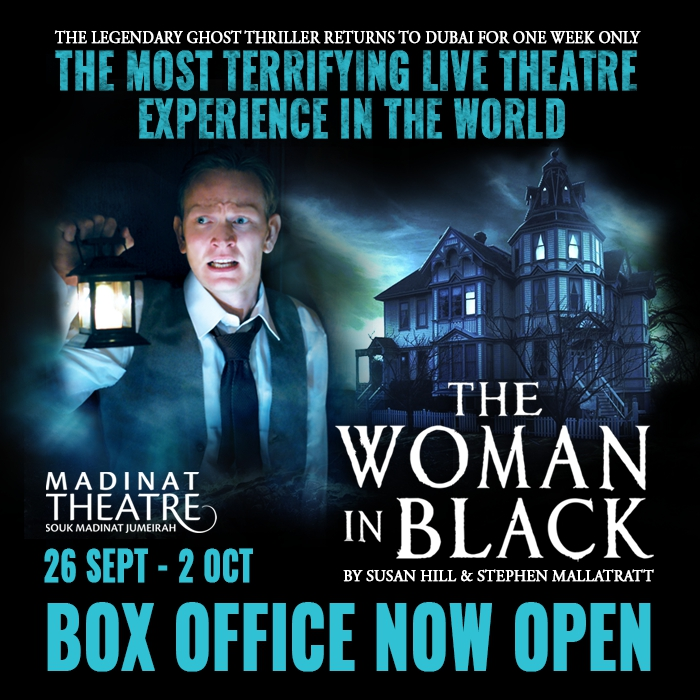 Legendary ghost thriller 'The Woman in Black' returns to the Dubai stage in September