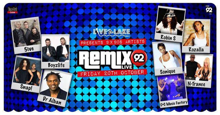 Live on the Lake presents REMIX 92