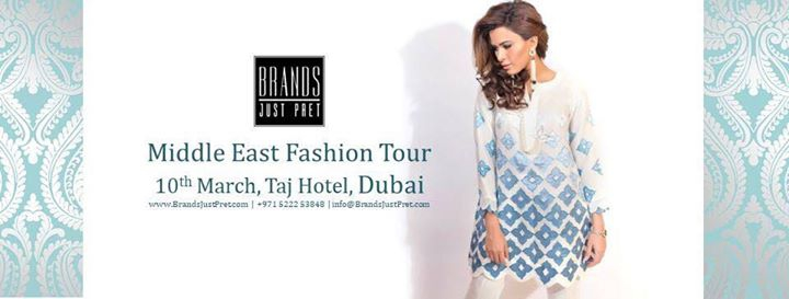 Middle East Fashion Tour (Dubai)