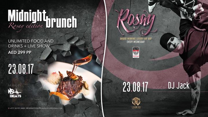 Midnight Brunch 'R O S A Y' Edition w/ DJ Jack