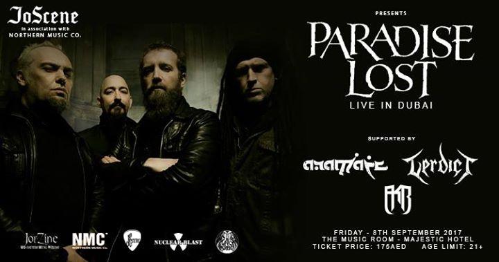 Paradise Lost - Live in Dubai