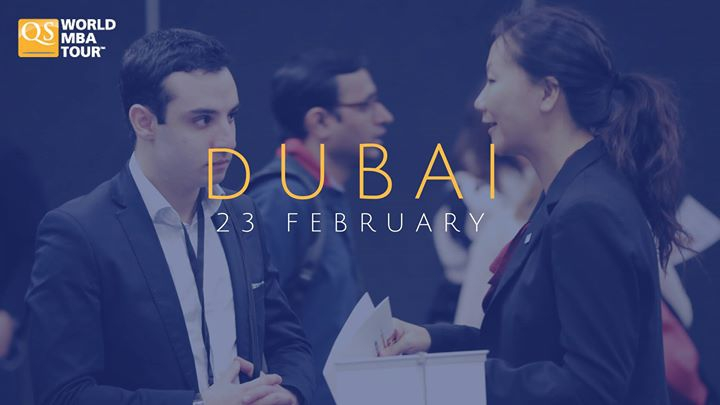 QS World MBA Tour - Dubai