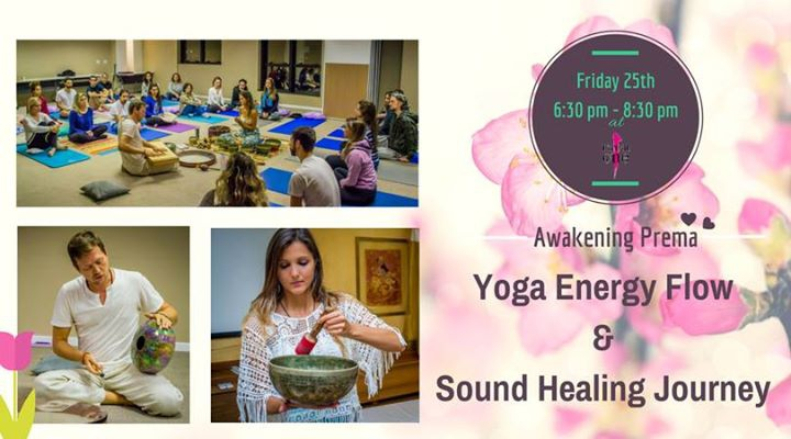 Sound Healing With Energy Flow Yoga with Renato & Ana