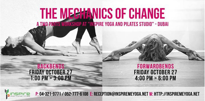 The Mechanics of Change * Danielle Abisaab