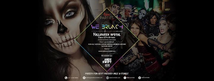 Webrunch Halloween Special 27th October