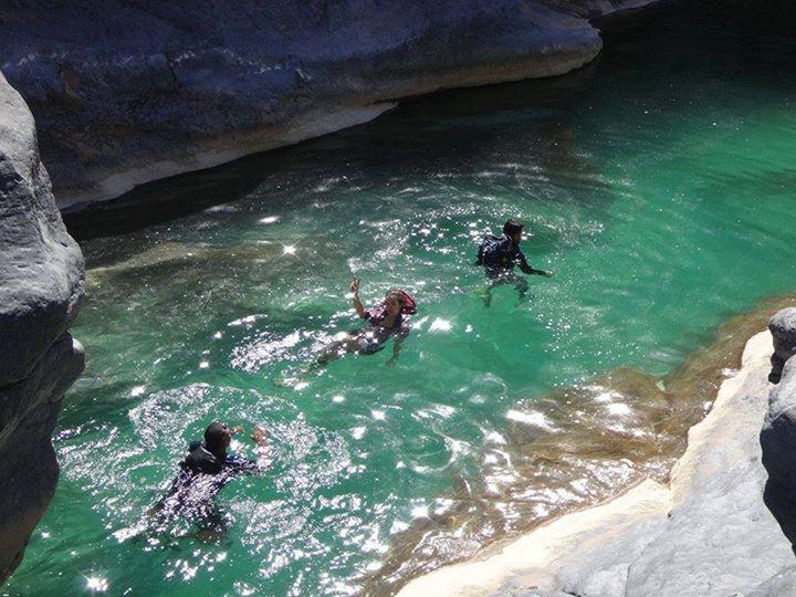 White Wadi Canyoning - Oman