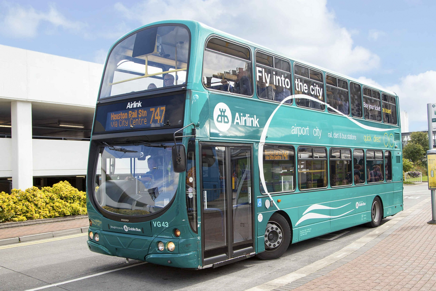 Airlink Express: Dublin Airport to Dublin's City Center