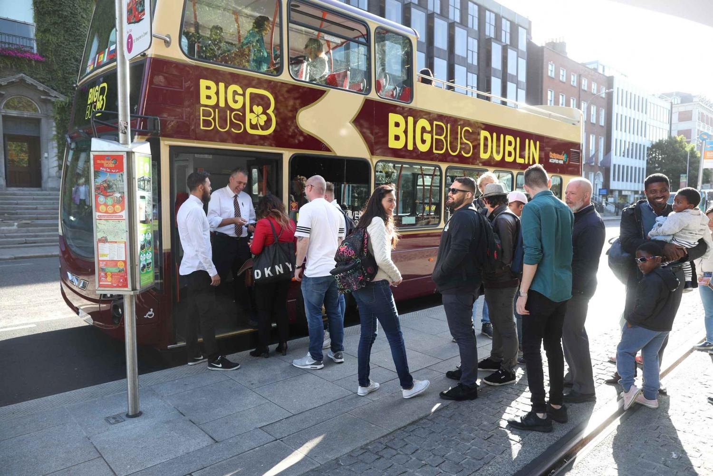 Big Bus Open Top Hop-on Hop-off Tour & Guinness Storehouse