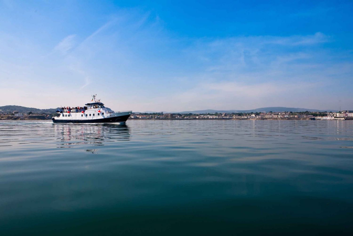 Dublin Bay: Cruise from the City Centre to Dun Laoghaire