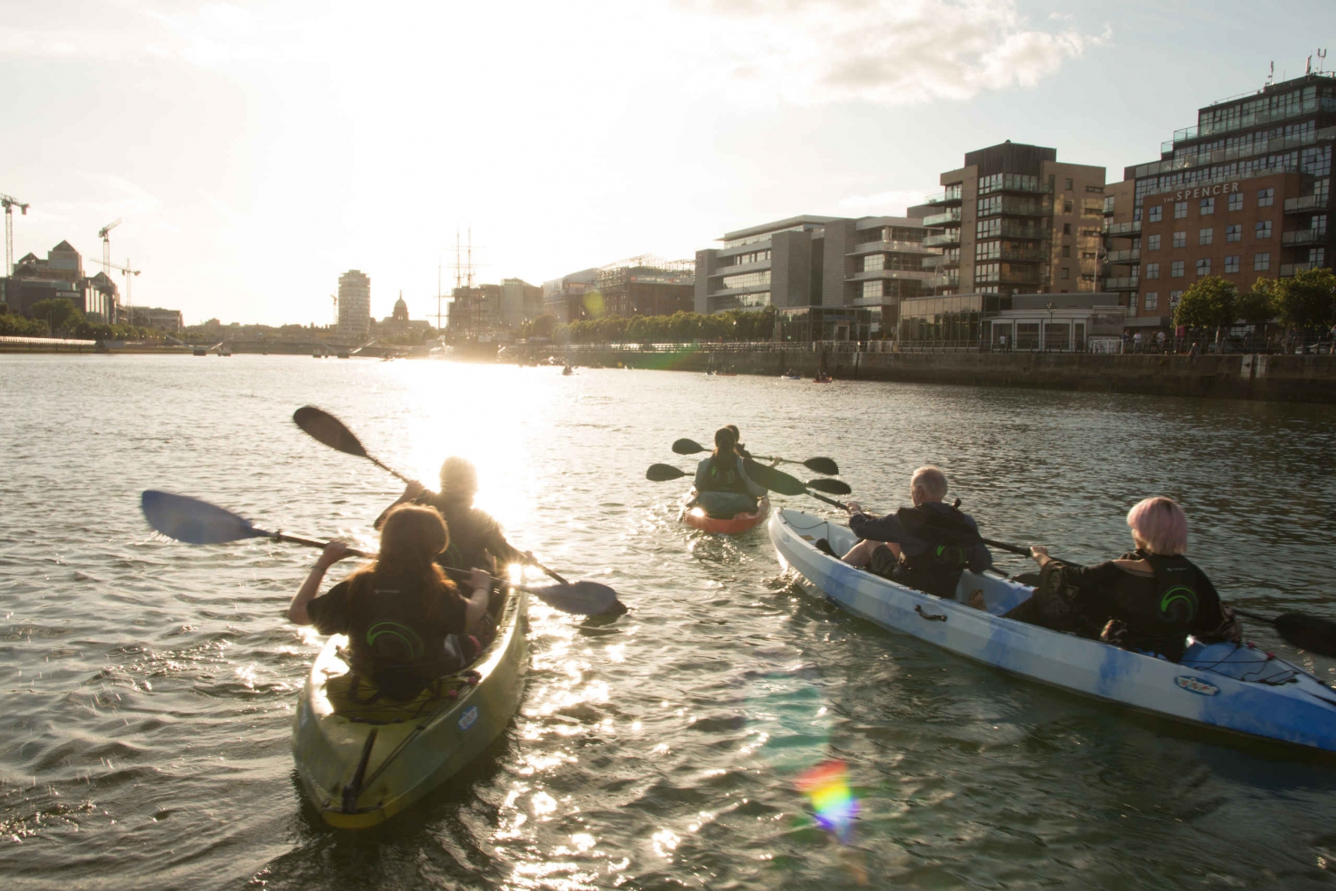 Dublin by Kayak 2-Hour Sightseeing Tour