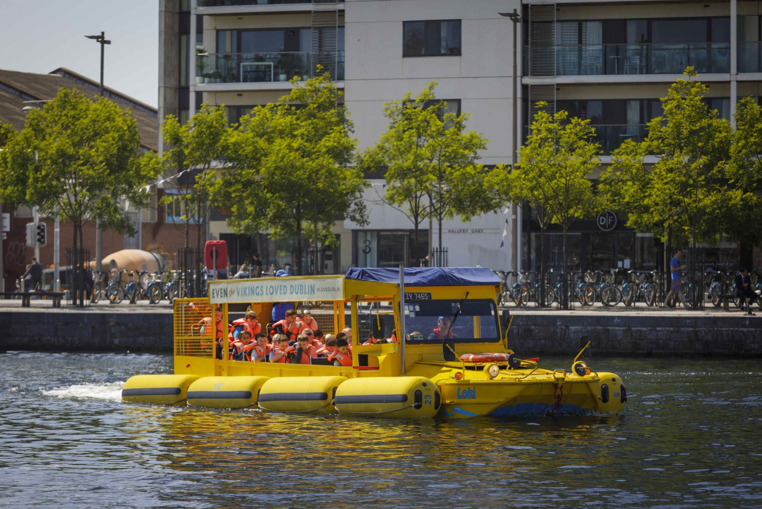 Dublin Duck Tour: 75-Minute City Tour by Land and Water