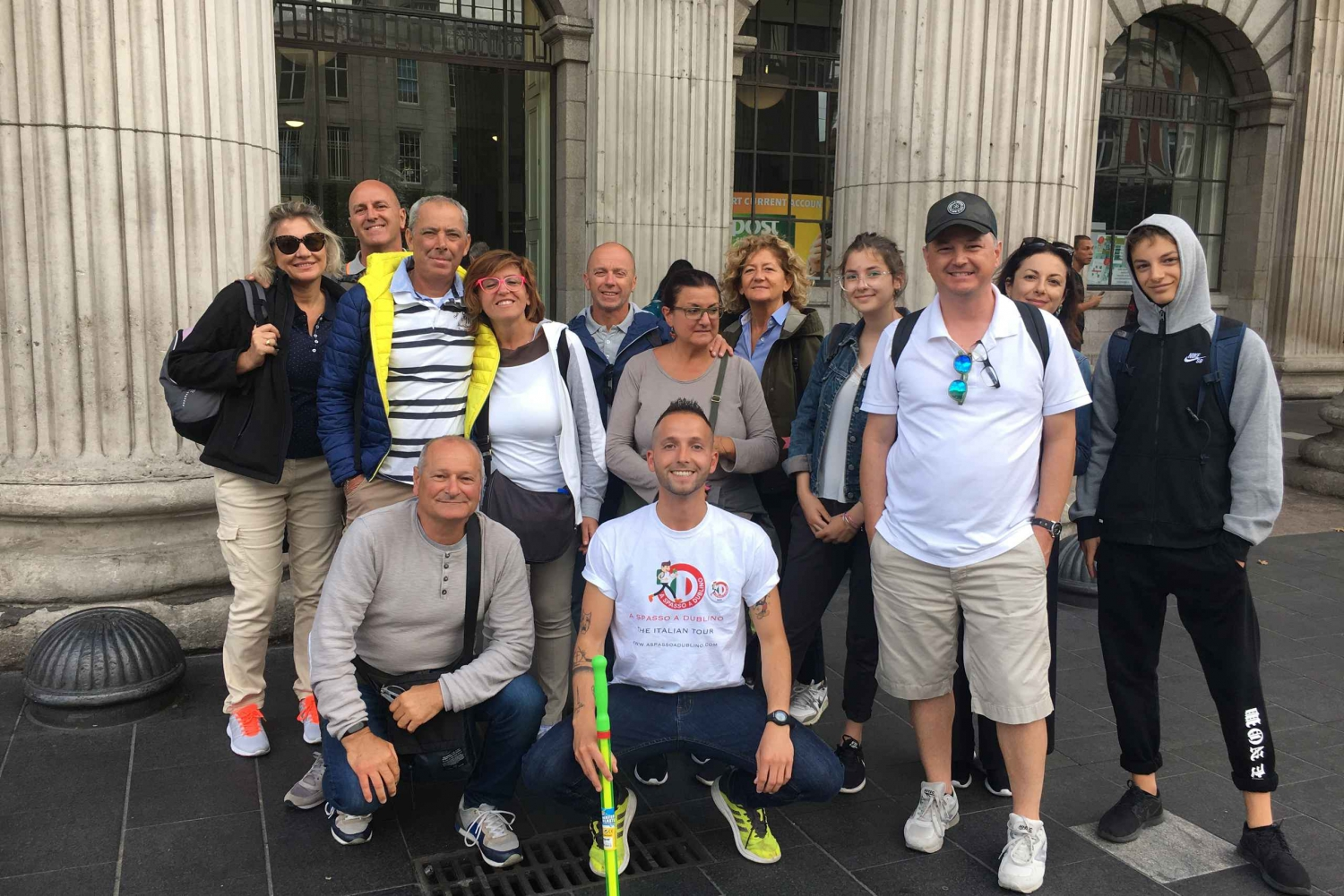 Dublin Walking Tour in Italian