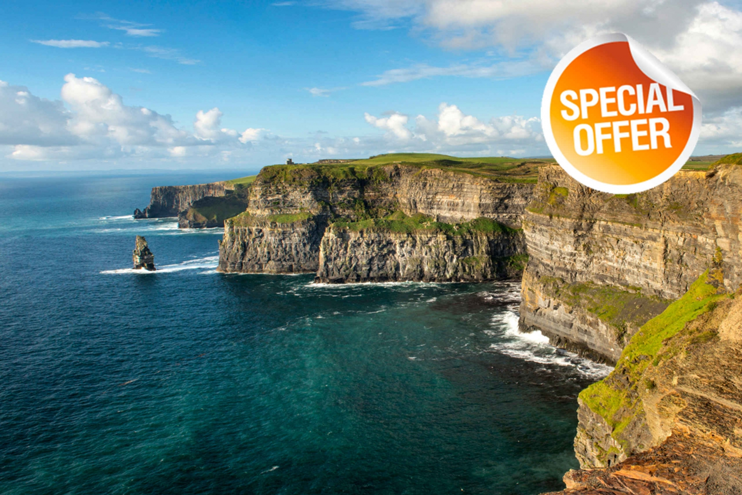 From Cliffs Of Moher Day Tour with Boat Cruise