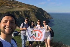 Howth: 5-Hour Tour in Italian with Boat Trip and Trekking