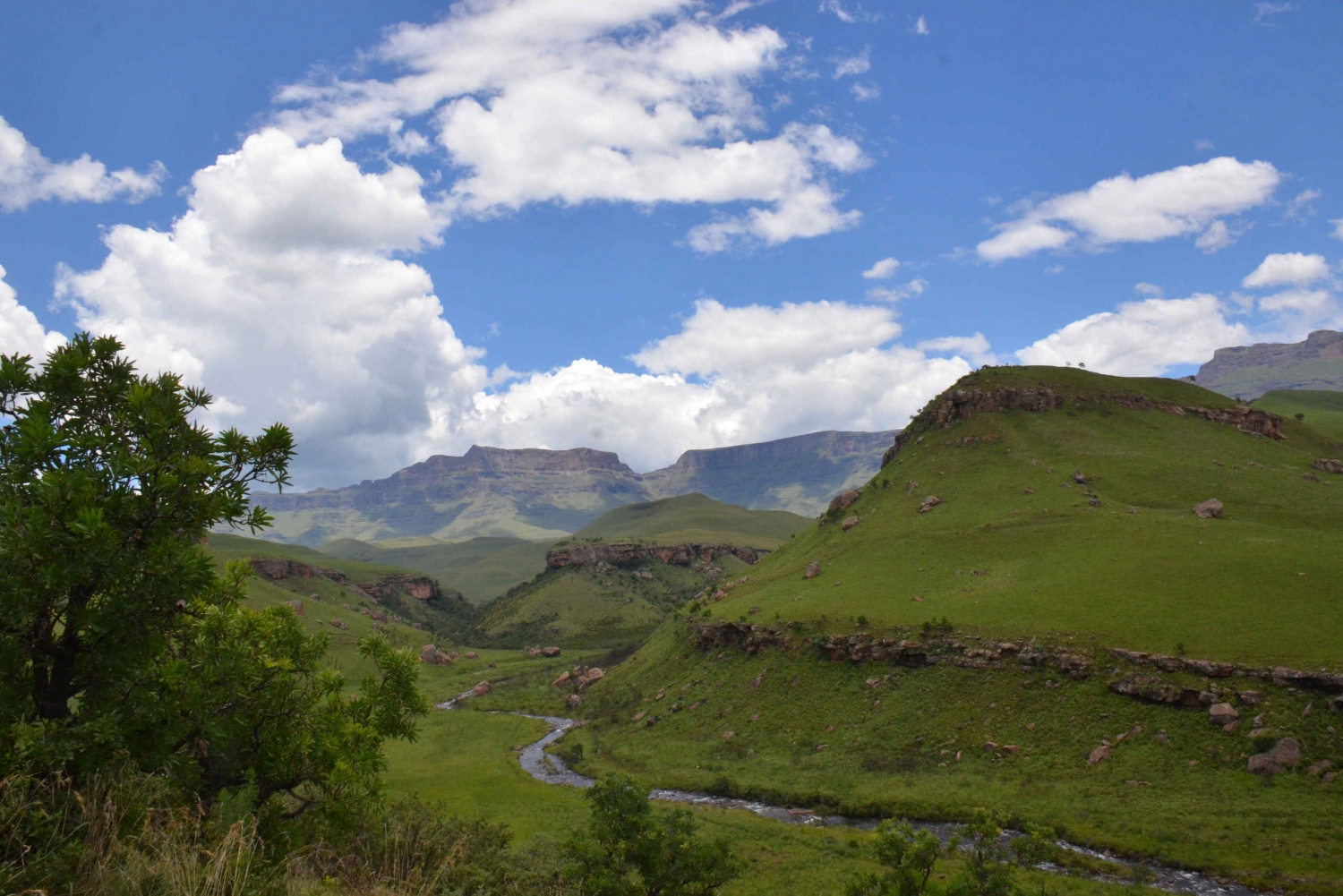 Drakensberg Giants Castle Cave Art & Mandela Capture Site