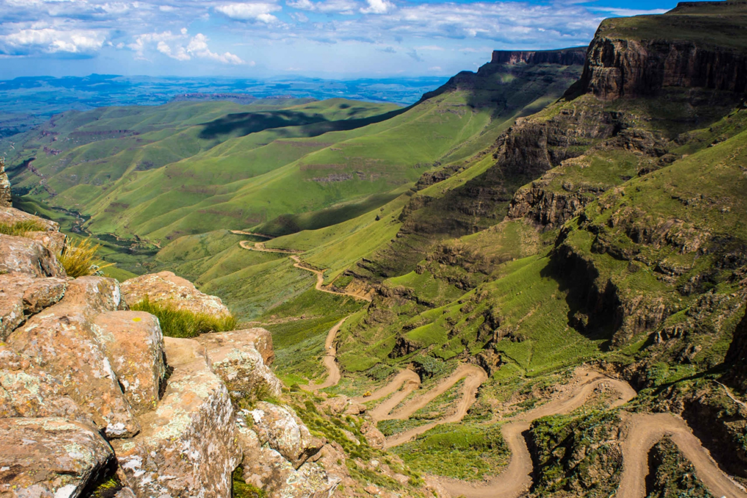 From Sani Pass and Lesotho by 4WD Vehicle