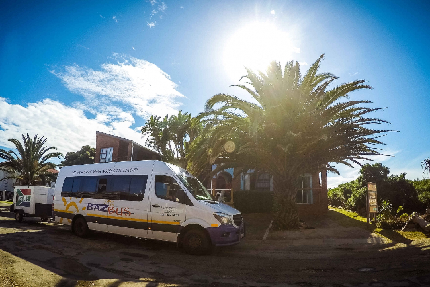 Hop-on Hop-off Door-to-Door Bus Between Cape Town & Durban