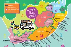 Hop-on Hop-off Door-to-Door Bus Between Cape Town & Durban
