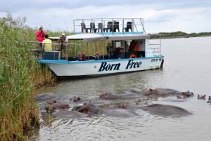 St Lucia Boat Safari and Emdoneni Wild Cat Private Day Tour