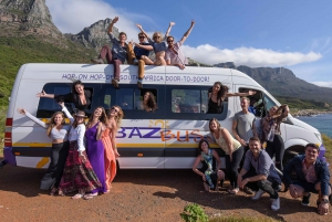 Travel Pass Hop-on Hop-off Bus - Cape Town to Johannesburg