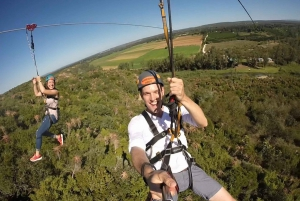 Addo National Park: Addo Zip Line and Giant Swing