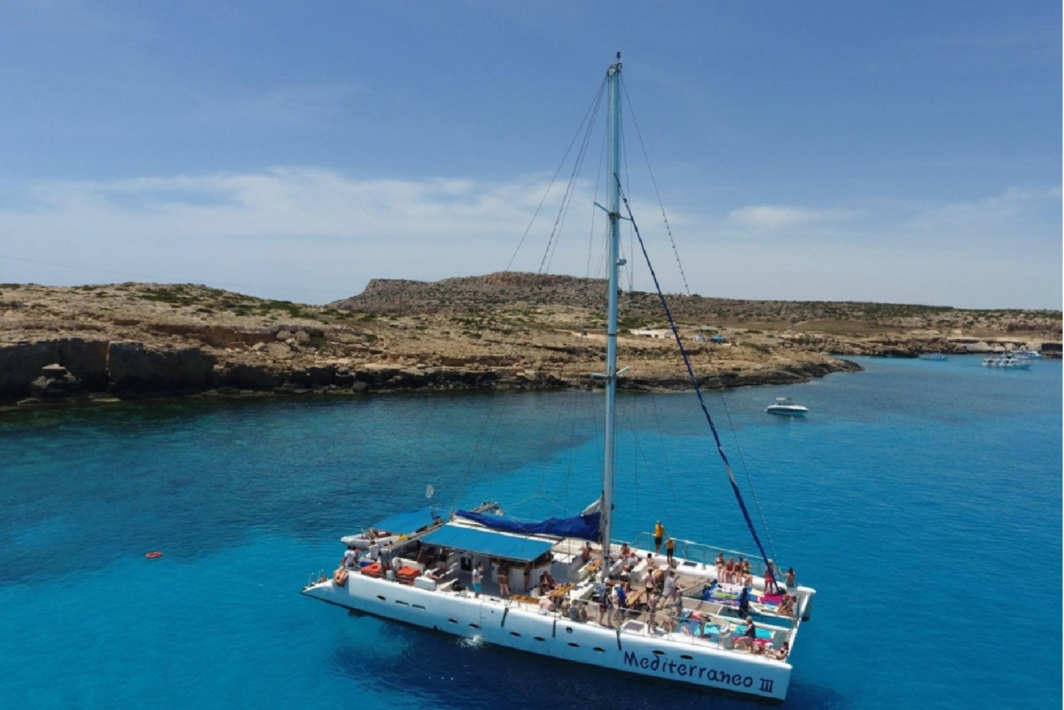 Ayia Napa and Protaras: Full Day Catamaran Cruise