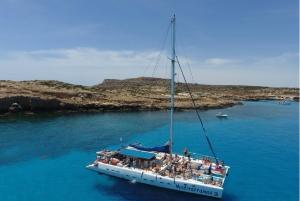 Ayia Napa and Protaras: Full Day Catamaran Cruise