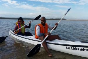 Kayaking Jeffreys Bay