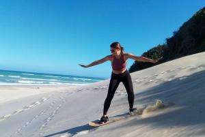 Sandboarding Jeffreys Bay