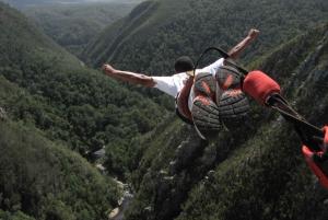 Tsitsikamma: Bungee Jump with Zipline and Sky Walk