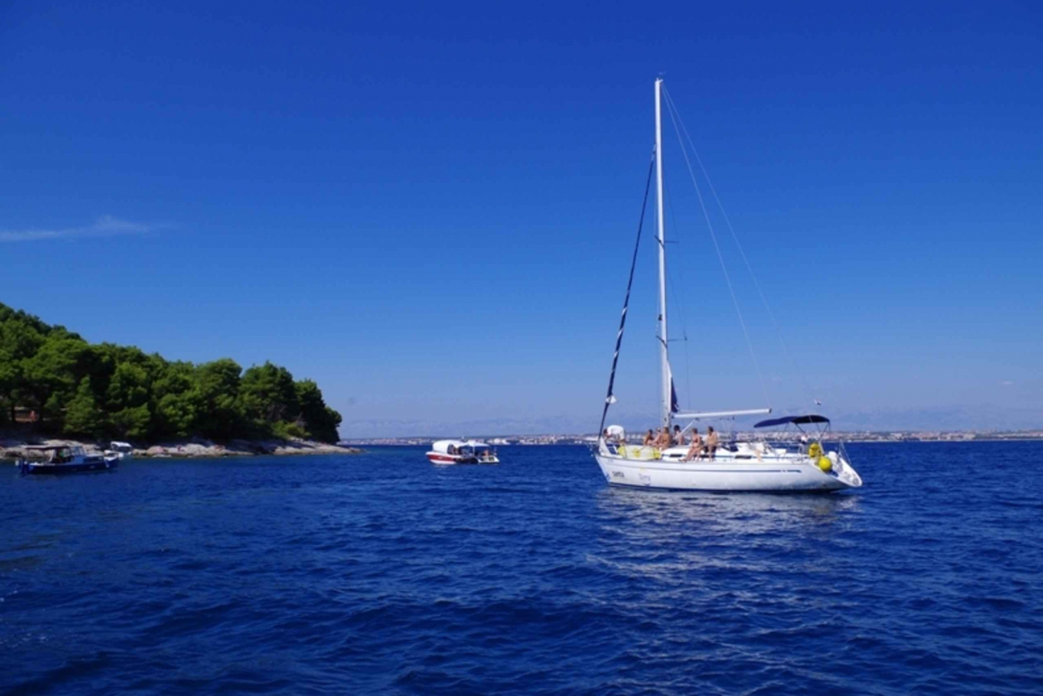 Zadar: Full-Day Sailing Trip to Kornati