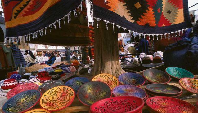 Experiencing Ecuador in Otavalo Market