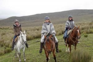 Cotopaxi Horseback Riding Tour from Quito
