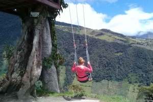 From Quito: 2-Day Small Group Baños and Quilotoa Lagoon Tour