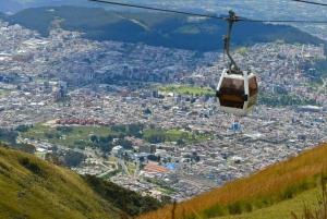 From Quito: 3-Day Mitad del Mundo, Teleferico & Mindo