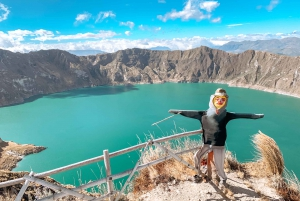 From Quito: Cotopaxi and Quilotoa 2-Day Trekking Tour