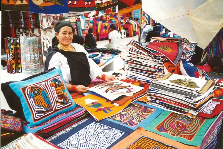 Full-Day Tour to Otavalo with Bird Sanctuary & Local Market